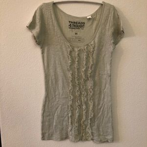 UO organic cotton mint shirt